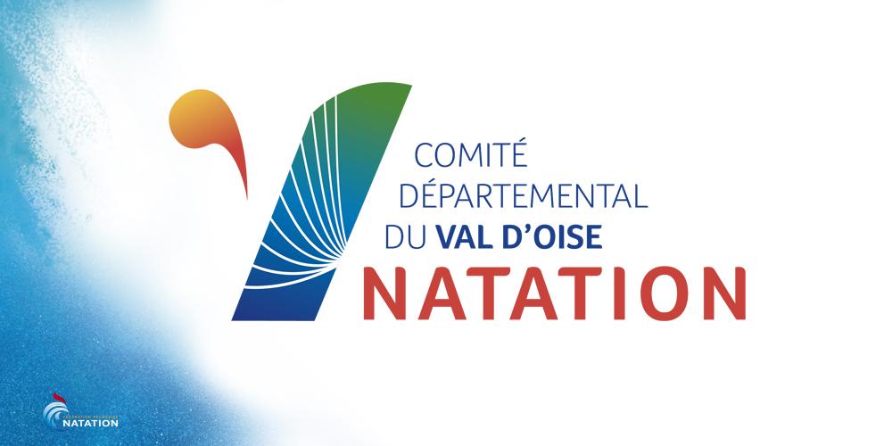 Nouveau logo pour le Comité Départemental du Val d'Oise de Natation