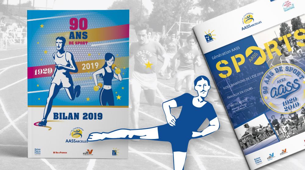 12 pages pour faire le bilan de L'AASS 2019 : un spécial 90 ans ! Magazine de L'AASS - Un spécial 90 ans