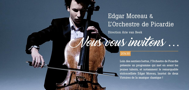 Invitation 4 pages pour une soirée concert à Compiègne