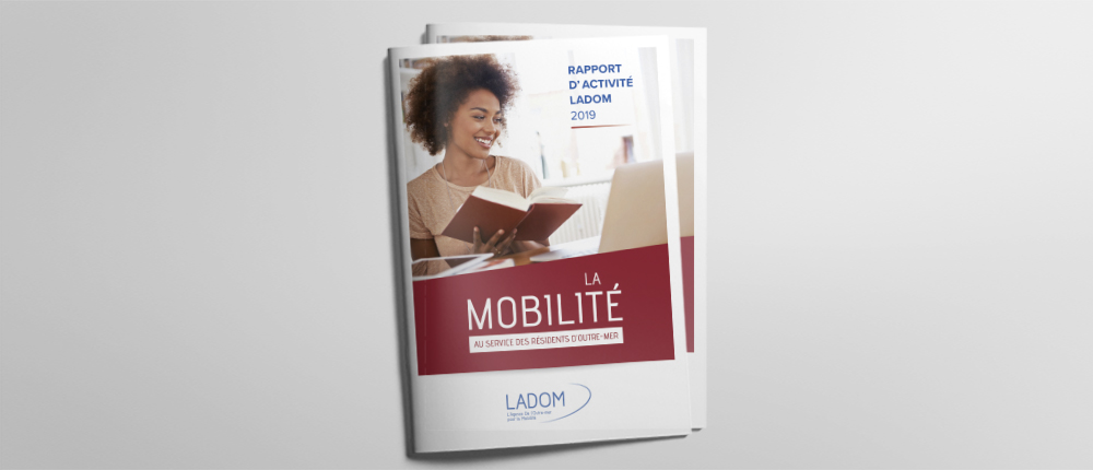 LADOM : Couverture pour le rapport d'activité 2019