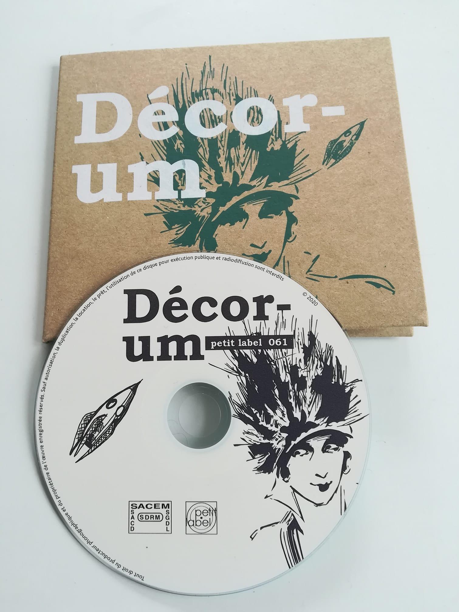 Créations et maquettes de pochettes CD : impression en sérigraphie